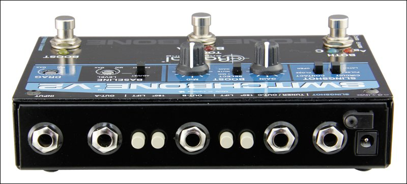 ABY/C Amp Selector and Booster