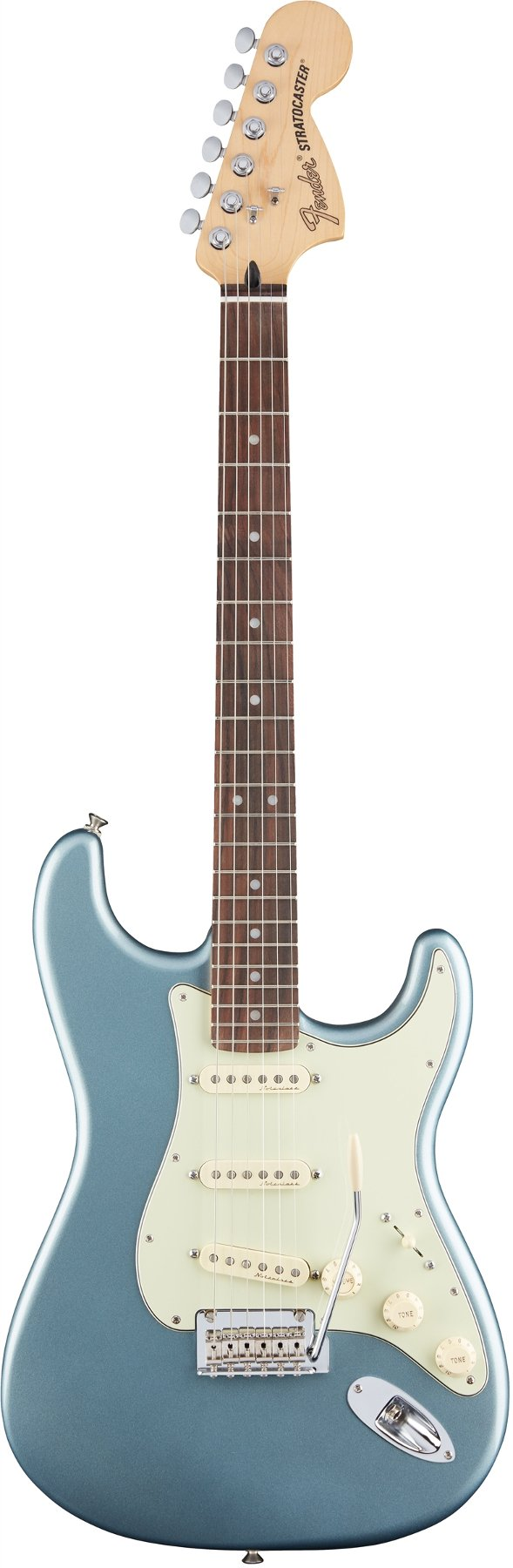 Electric Guitar with Vintage Noiseless Pickups