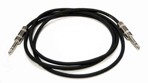 "1/4"" TRS to 1/4"" TRS Balanced Cable, 15 Ft"