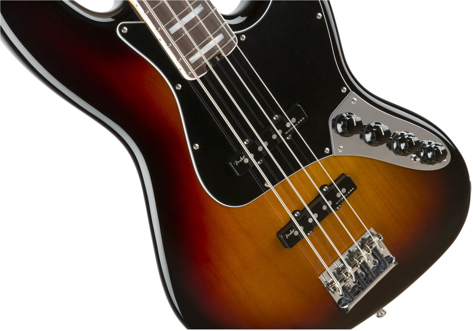 Electric Bass with Noiseless Pickups, Rosewood Fingerboard