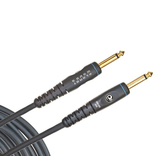 "Guitar/Instrument Cable, 1/4""-1/4"", Mono, 30 Feet"