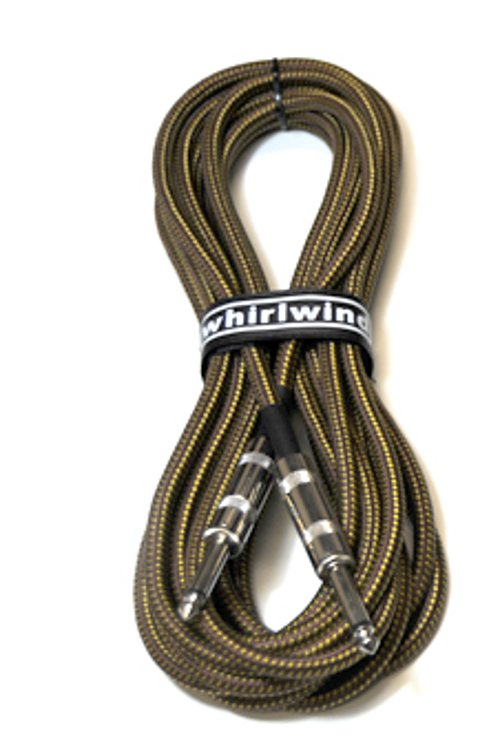Whirlwind INSTB20-TWEED Connect Series 20 ft Instrument Cable INSTB20-TWEED