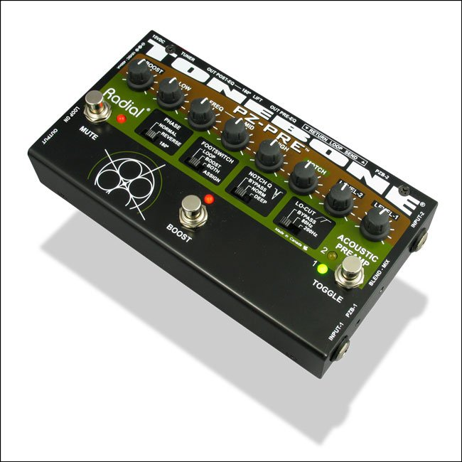Acoustic Instrument Preamplifier