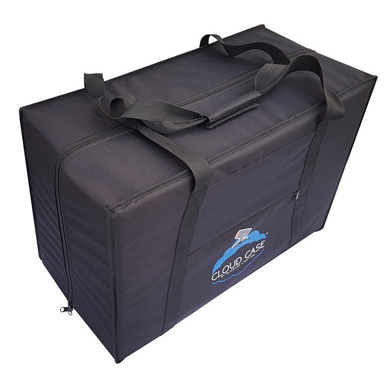 Padded Carry Case for (2) Small or (1) Mid-Sized Moving Head Fixture