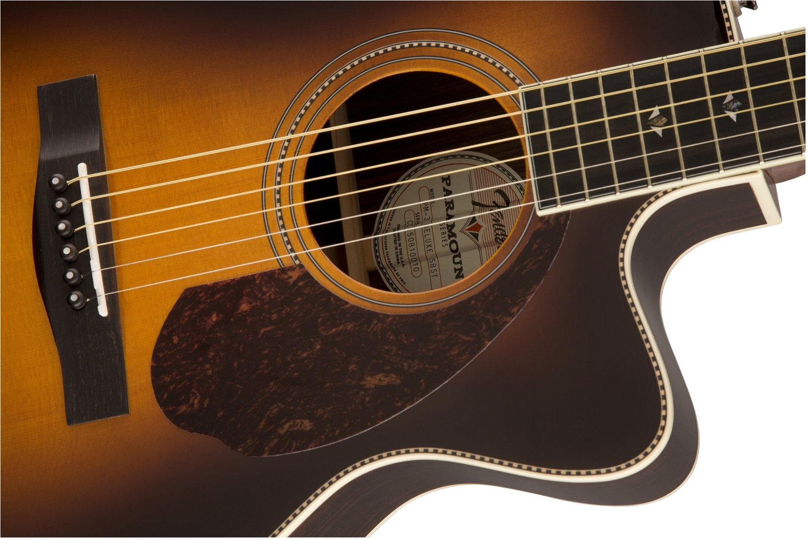 Paramount Series Acoustic-Electric Guitar with Premium Hardshell Case