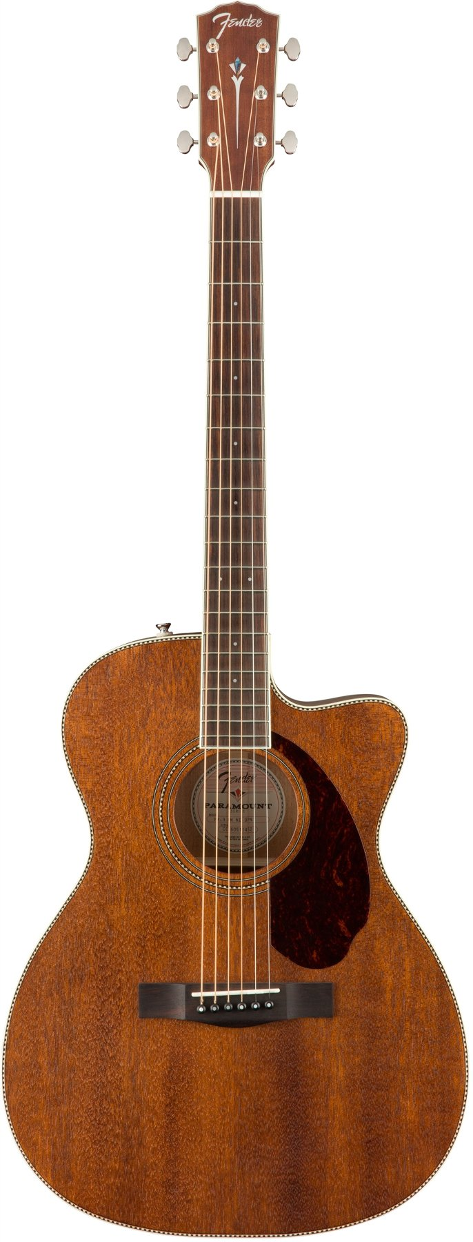 Paramount Series Acoustic Guitar with Deluxe Black Hardshell Case
