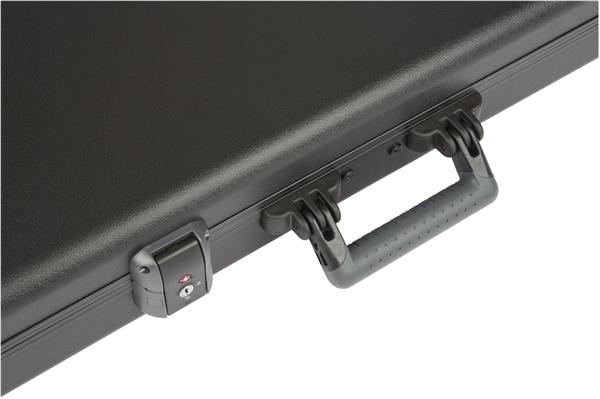 Fender Deluxe Molded Case for Stratocaster & Telecaster Hardshell Case with Plush Interior 099-6102-306