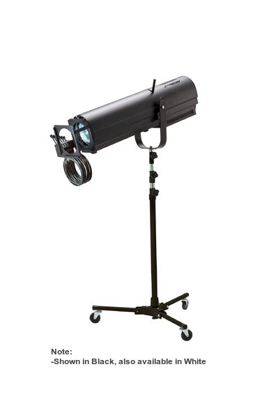 230W Short to Medium Throw LED Followspot with Stand & Included Boomerang