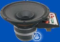 """12"""" 250W 70.7V Coaxial 2-Way In-Ceiling Speaker"""