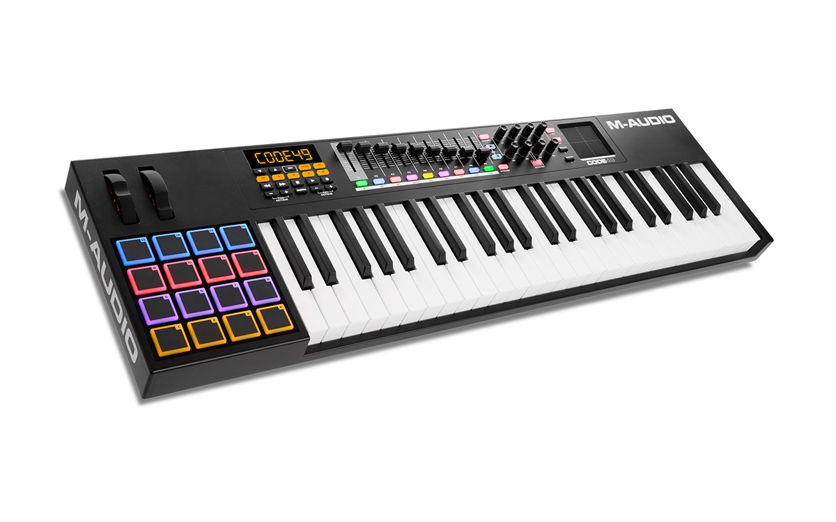 49-Note USB MIDI Keyboard Controller with X/Y Touch Pad