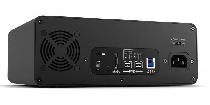 Glyph Technologies StudioRAID SR12000 12TB External Hard Drive, 7200RPM, USB 3, FW800 , eSATA SR12000