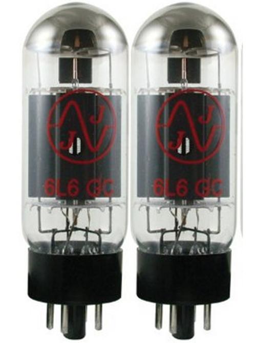 Pair of 6L6 Power Vacuum Tubes