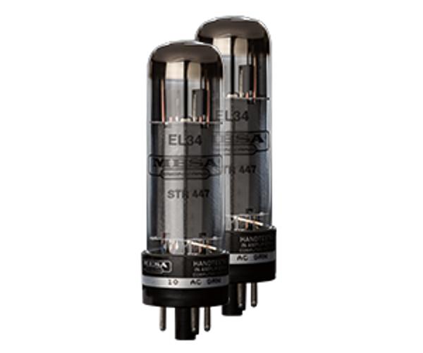 Mesa Boogie Ltd EL34 STR-447 Duet Pair of EL34 Power Vacuum Tubes EL34-STR-447-DUET