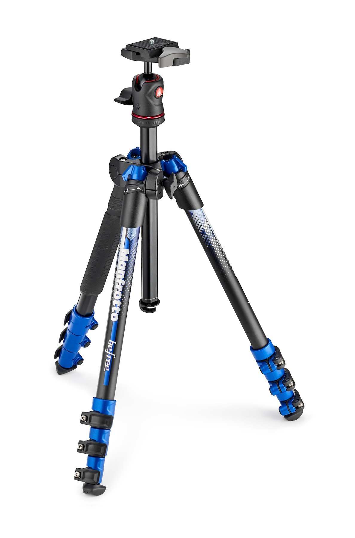 BeFree Tripod with Ball Head in Blue