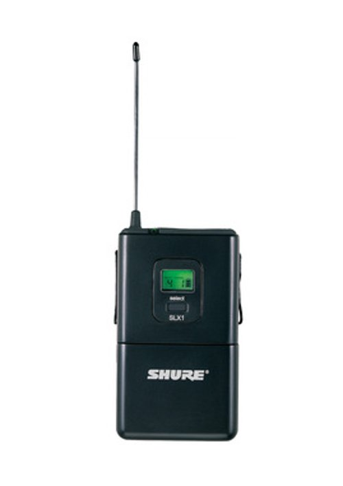 Bodypack Transmitter for SLX Wireless Systems