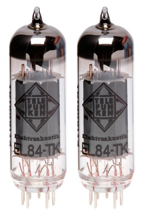 Pair of EL84 Black Diamond Series Power Amplifier Vacuum Tubes