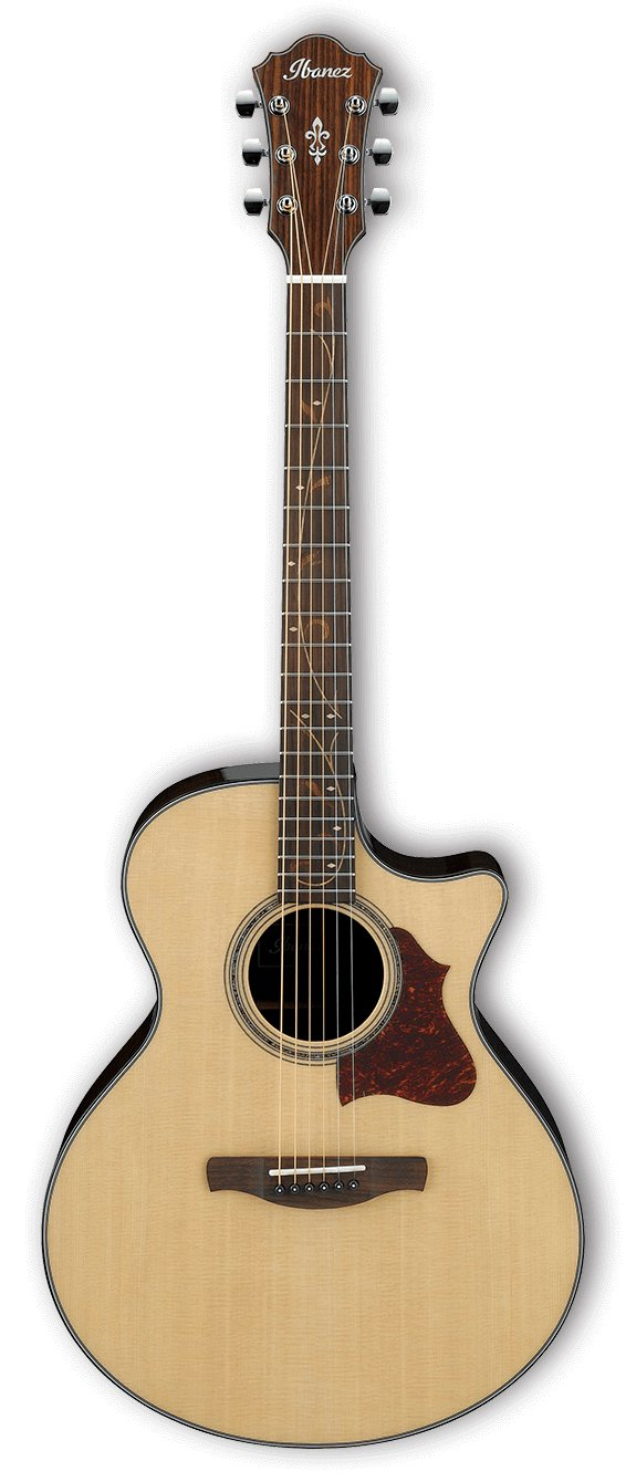 Acoustic Electric Guitar - Natural High Gloss