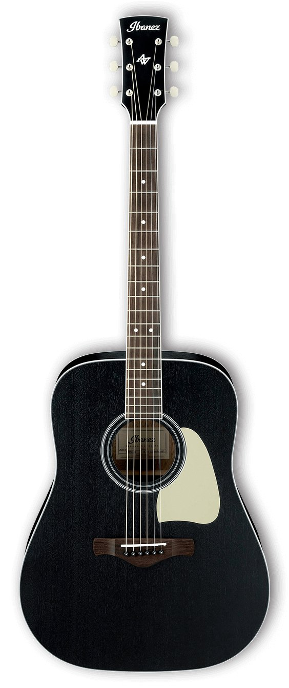Artwood Dreadnought Acoustic Guitar - Weathered Black Open Pore