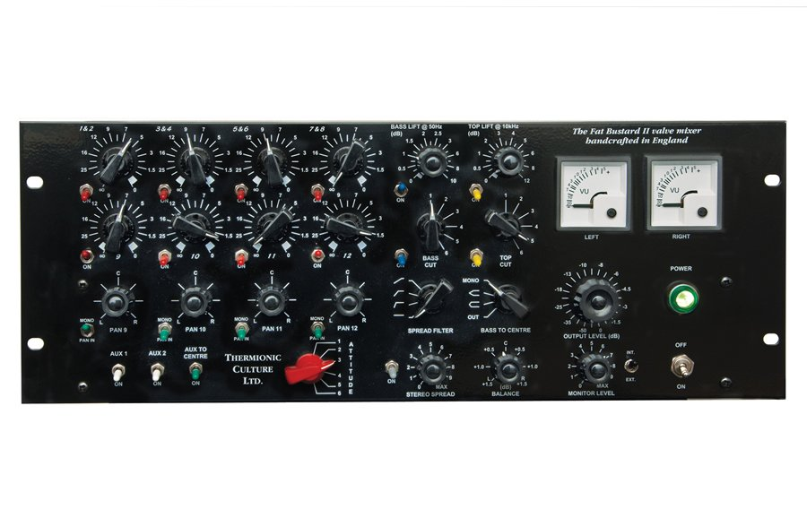 Thermionic Culture Fat Bustard Mk II 14-Channel Valve Mixer FAT-BUSTARD-II