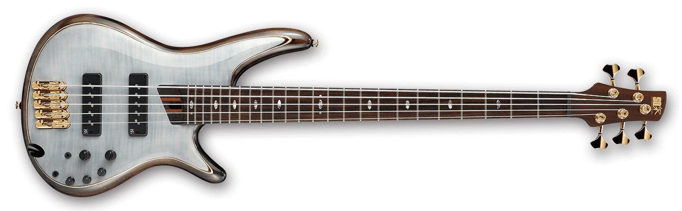 Glacial White SR Premium 5 String Electric Bass
