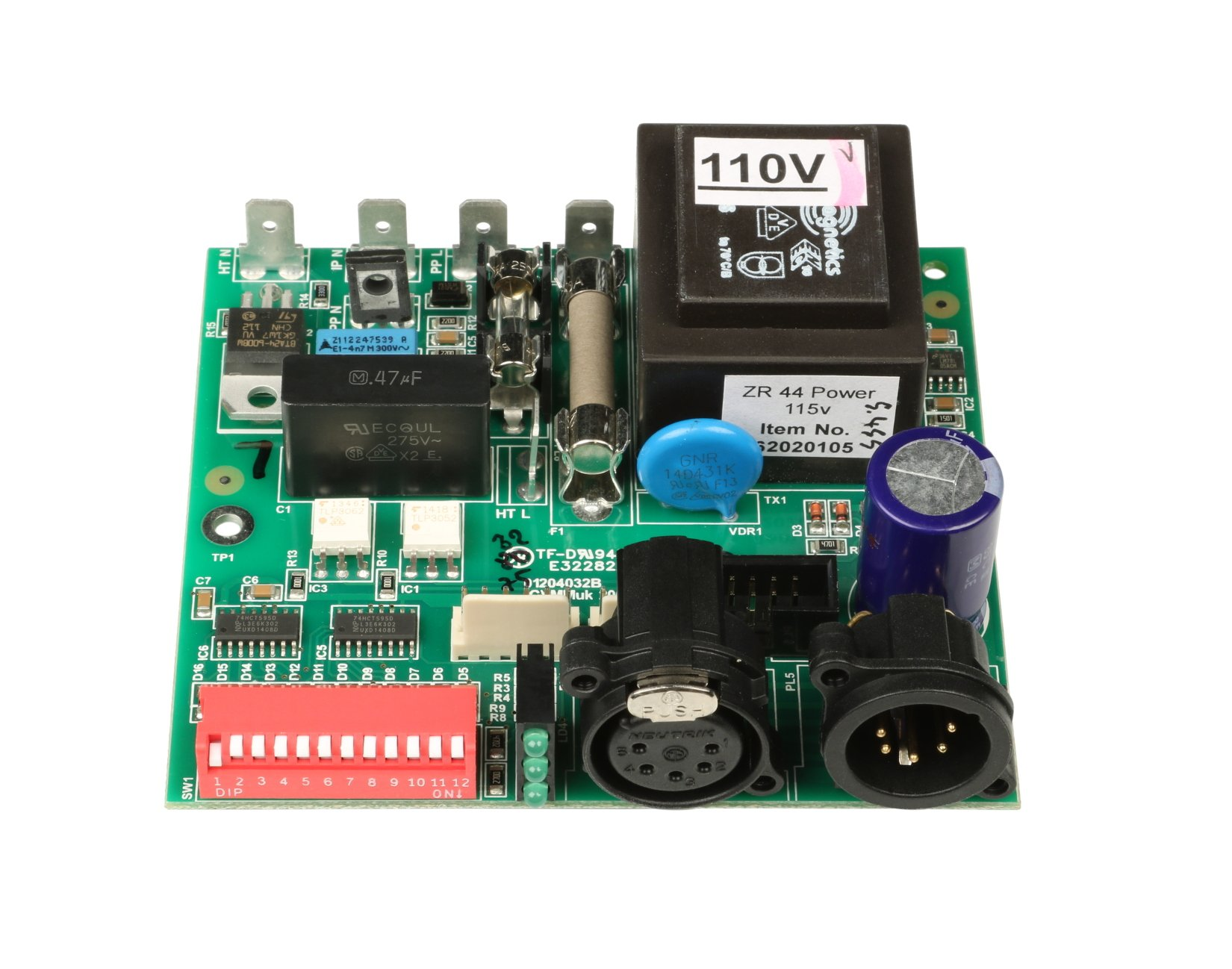 120v Power PCB for Jem ZR44