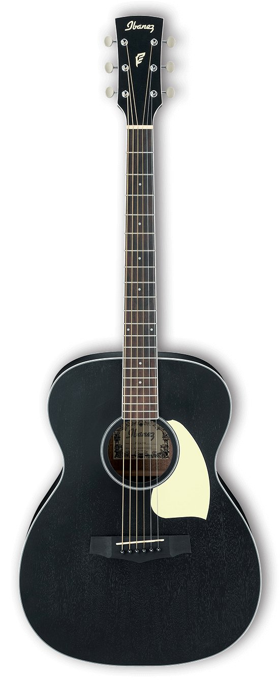 Performance Grand Concert Acoustic Guitar - Weathered Black