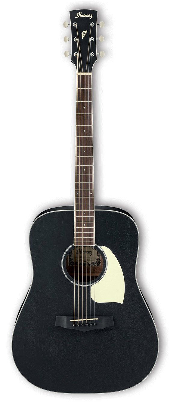 Performance Dreadnought Acoustic Guitar - Weathered Black