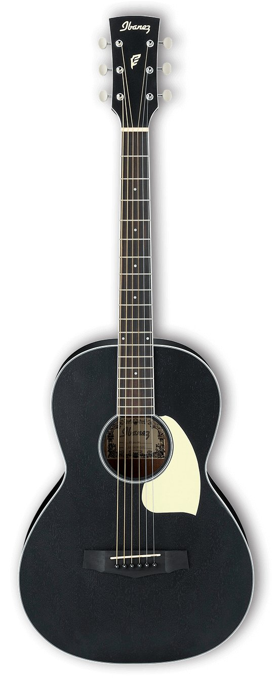 Performance Parlor Acoustic Guitar - Weathered Black