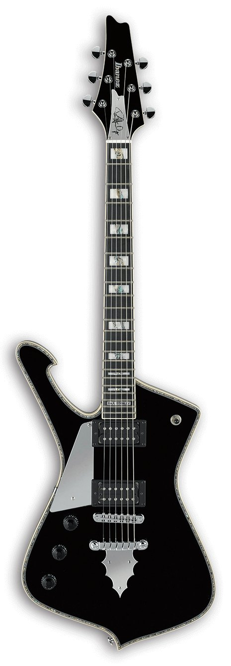 Paul Stanley Signature 6-String Left Handed Electric Guitar - Black
