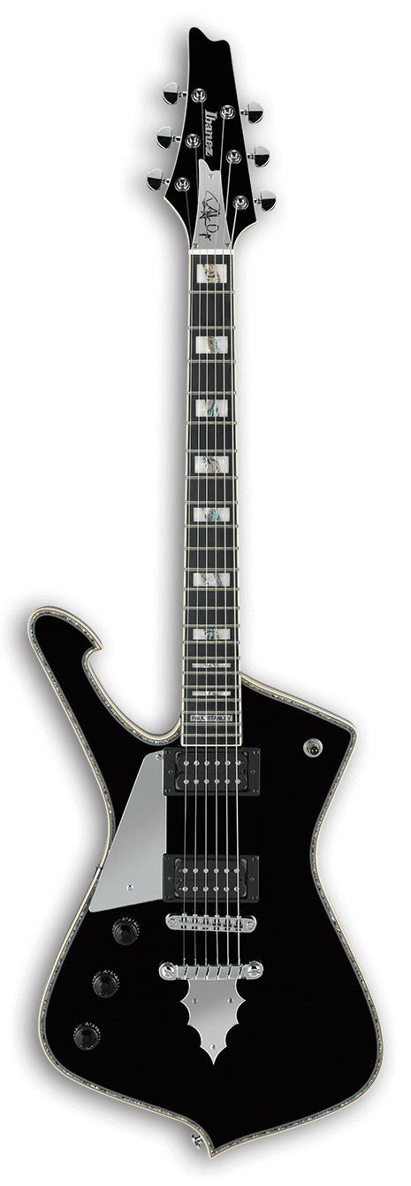 Paul Stanley Signature 6-String Left Handed Electric Guitar - Black