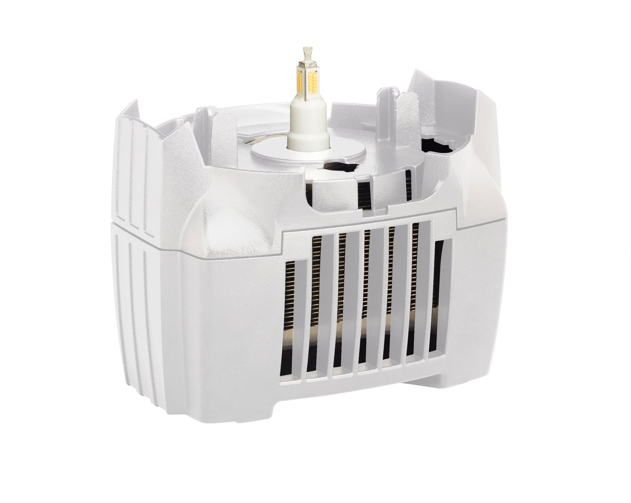 LED Retrofit Module with Grounded 20A Twistlock Connector, White