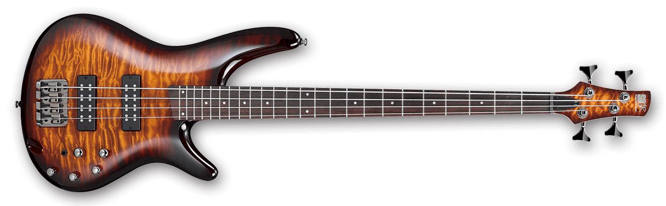 SR Standard 4 String Electric Bass - Dragon Eye Burst