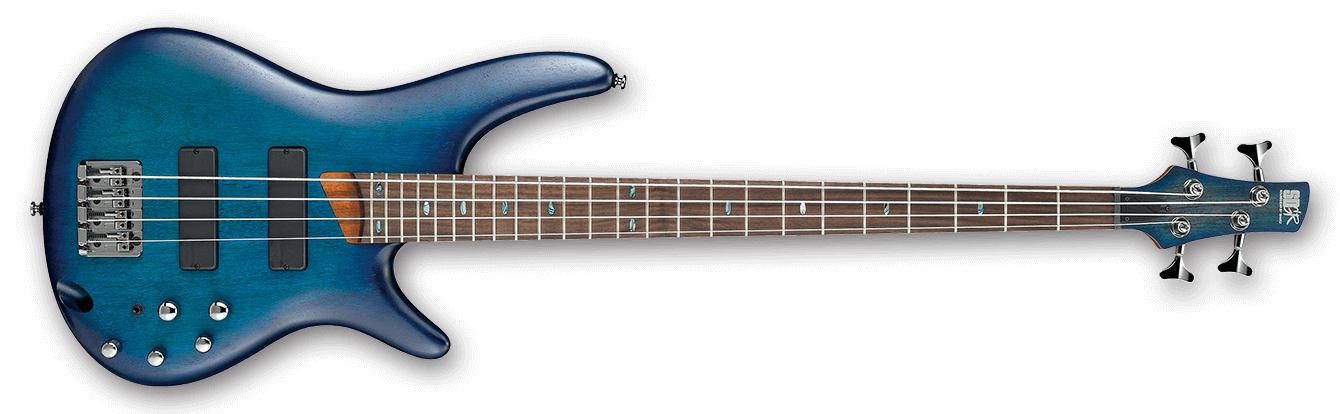 SR Standard 4 String Electric Bass - Sapphire Blue Flat