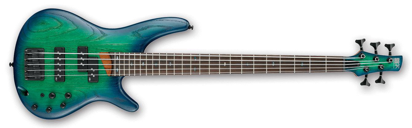 SR Standard 5 String Electric Bass - Surreal Blue Burst