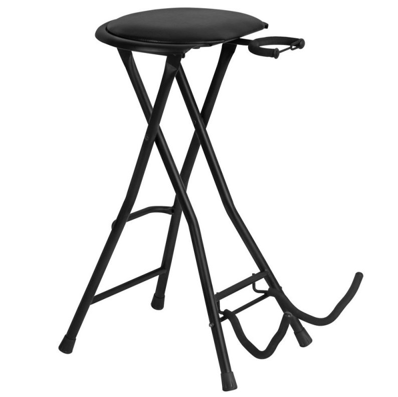 Guitar Stool with Footrest