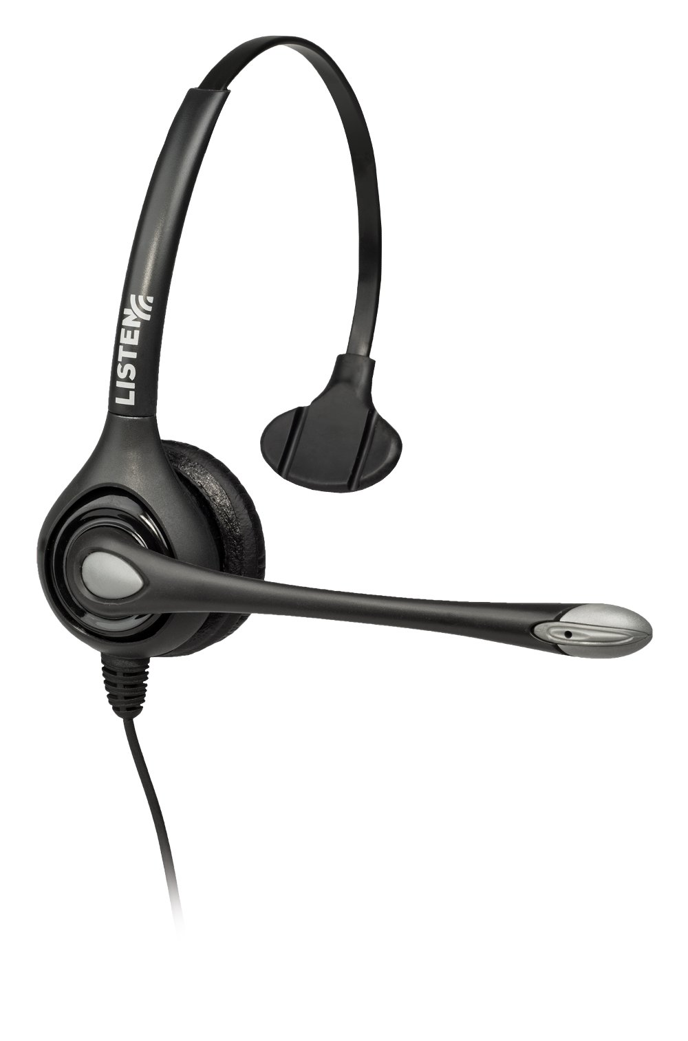 Listen Technologies LA-452  Headset 2, Single On-Ear with Boom Microphone LA-452