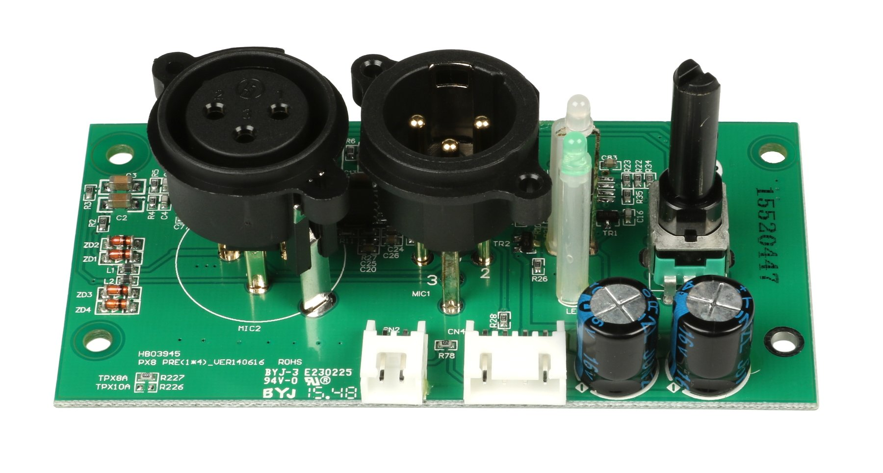 XLR Preamp PCB Assembly for TX8