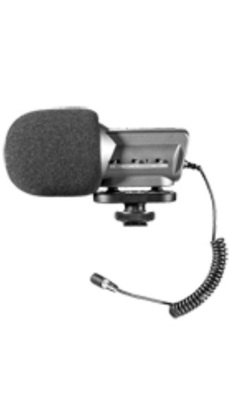 Stereo Camera Mount Microphone