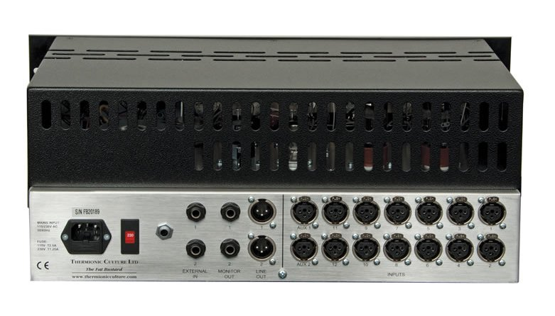 12 Channel Summing Mixer and EQ Limited Edition, Green
