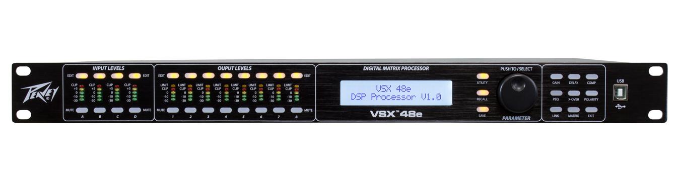 4 Input / 8 Output Loudspeaker DSP Management System