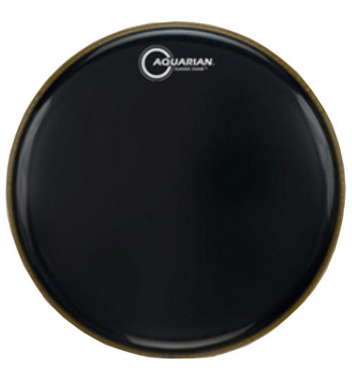 """Aquarian Drumheads CC16BK 16"""" Clear Gloss Black Classic Series Drumhead CC16BK"""