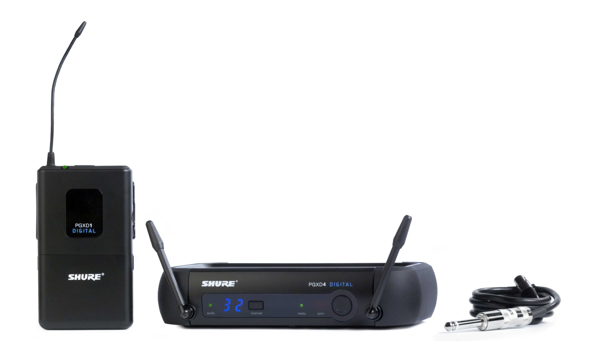 Wireless Digital System for Guitar or Bass