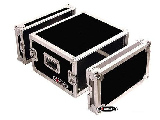 6RU Pro Amp Rack Flight Case