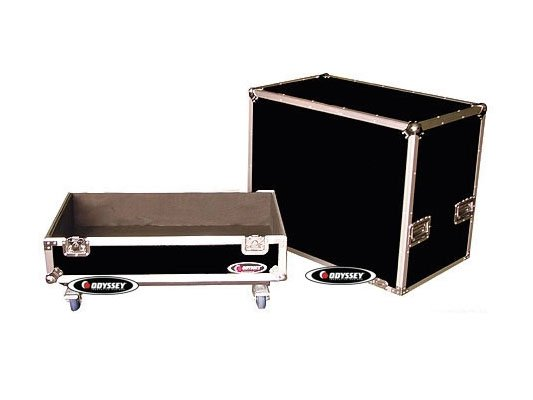 Large 4x12 Guitar Cabinet Case with Wheels