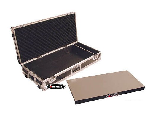 "32"" Guitar Pedal Board Case with Wheels"