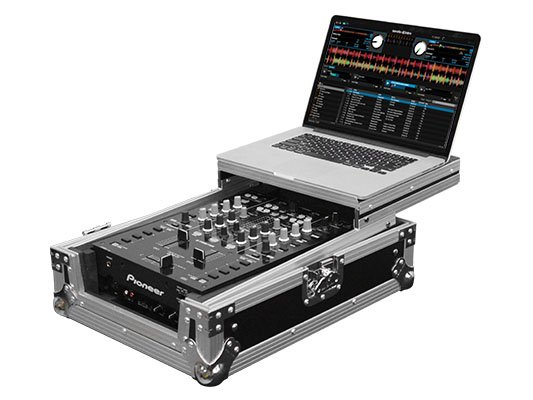 "Flight Zone Low Profile Glide Style Series Universal 10"" DJ Mixer Case"