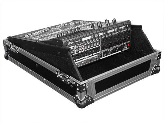 "Flight Zone Series Universal 19"" Rack Mountable Mixer Case"