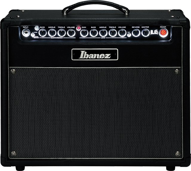 "15W 2-Channel 1x12"" Iron Label Guitar Combo Amplifier"