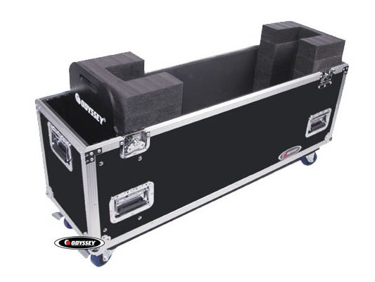 "Flight Zone Series 42"" Flat Screen Monitor Case with Wheels"