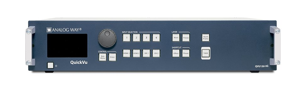 Hi-Res True Seamless Switcher with 8 inputs and HD/3G SDI Output